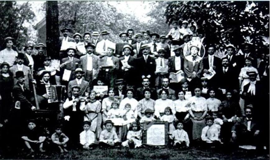 Giovannitti nel 1911 picnic a Chicago