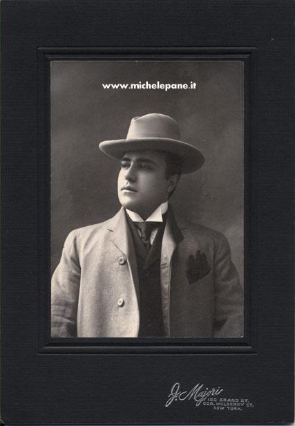 Michele Pane nel 1906