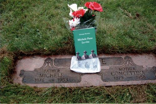 Foto tomba di Michele Pane