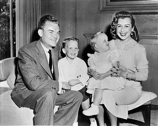 Spike Jones, Helen Grayco e figli