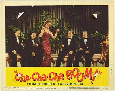 """Locandina """"Cha Cha Cha Boom"""""""