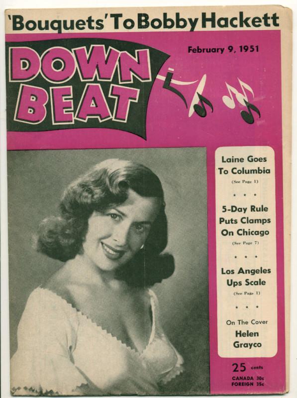 Copertina di Down beat