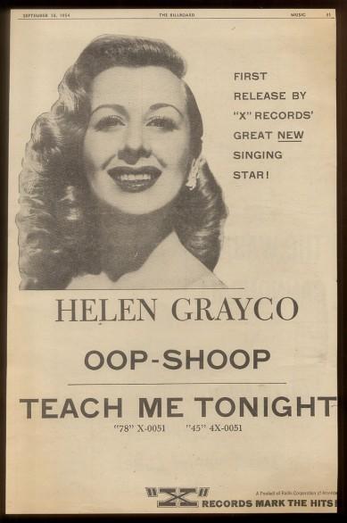 The Billboard, 18 settembre 1954