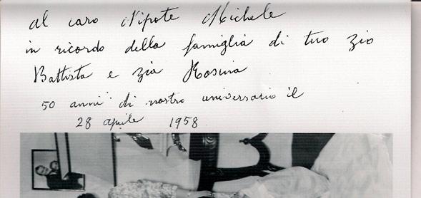 Dedica a Michele Brunetti
