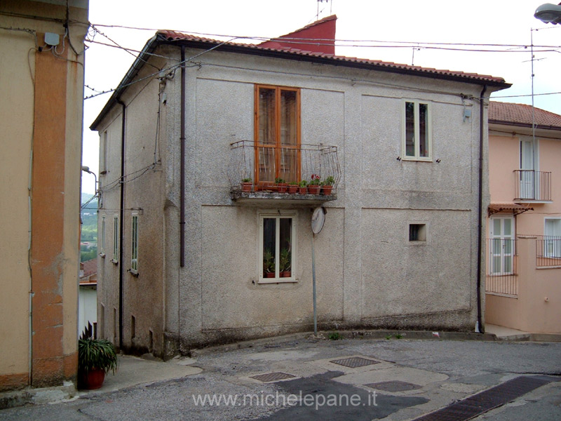 Casa natale di Felice Costanzo in località Censo, ora di altri proprietari.