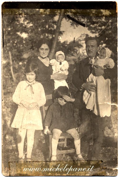 Famiglia Costanzo nel 1930
