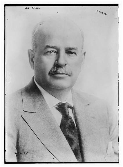Il Governatore dell'Illinois Len Small