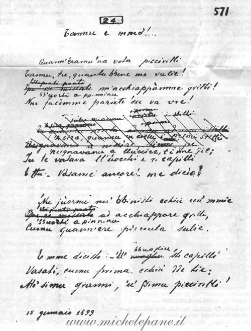Manoscritto di Tannu e mmo